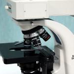 Microscopio Biologico B-350 Optika per il laboratorio di analisi del CMO - Santa Maria la Carità